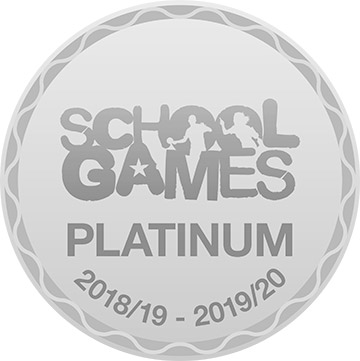 platinum school games award, hague bar primary school in derbyshire
